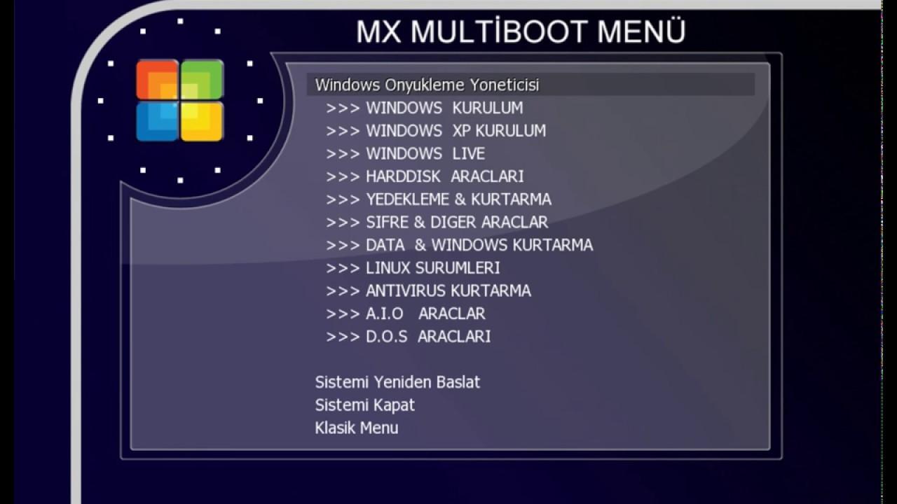 MX Multiboot USB Legacy Part