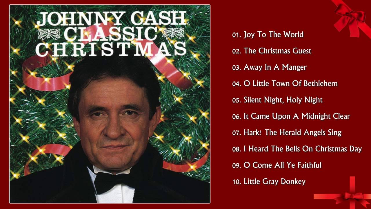 Classic Christmas Johnny Cash | Christmas Songs Greatest ...