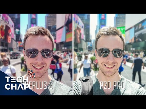 OnePlus 6 vs Huawei P20 Pro Camera Comparison! | The Tech Chap