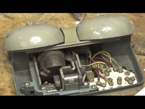 Vintage Bell Systems Ringer Wire and Test - YouTube