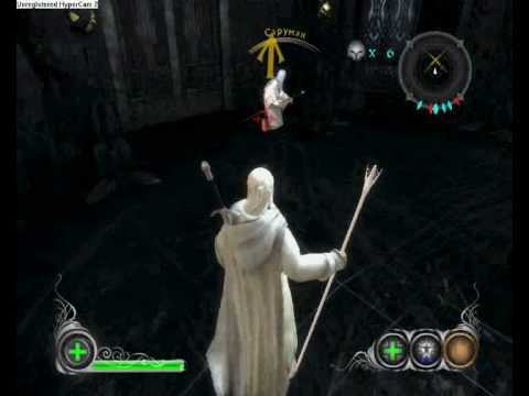 Lord Of The Rings Game Gandalf Stab