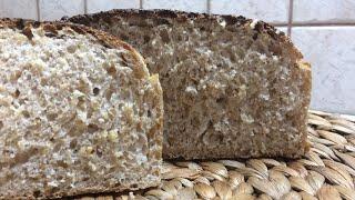 Этом мой любимый хлебушек Барвихинский хлеб на закваске с пшеничной крупой Кулинария с любовью