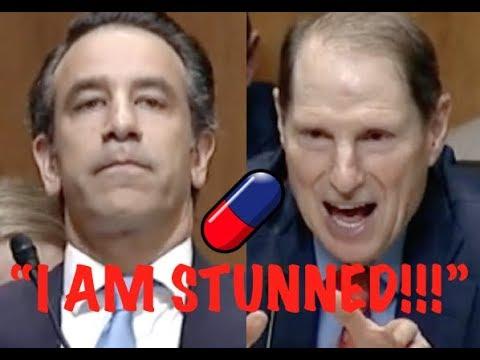 """I AM STUNNED!!!"" Ron Wyden DESTROYS Trump Lackey on Trump's Corrupt Dark Money Policy"