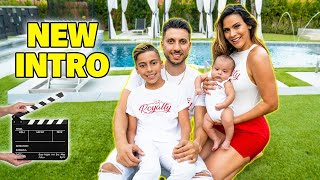 THE ROYALTY FAMILY'S New INTRO VIDEO W/ Baby Milan!   The Royalty Family Premiere