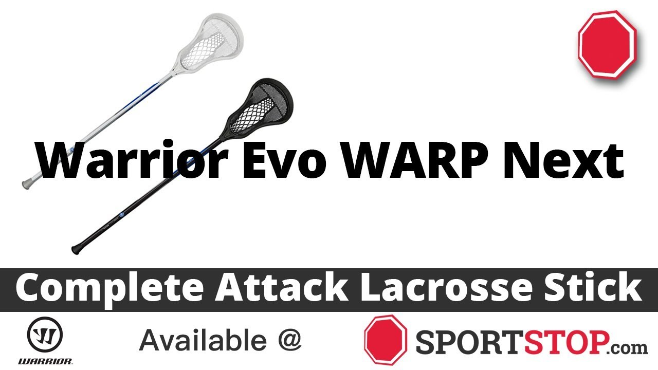3db4b66c6e5 Warrior Evo WARP Next Complete Attack Lacrosse Stick Product Video ...