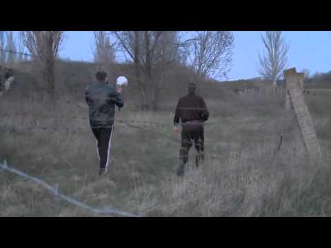 RAW: Helicopter Shot Down in East Ukraine 4/15/2014?