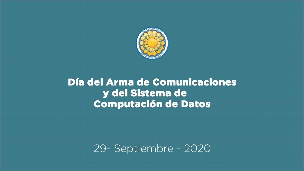 Día del Arma de Comunicaciones y del Sistema de Computación de Datos