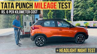 Download Tata Punch Mileage Test - Rs. 6 Per KM Running Cost [ Most Detailed ]