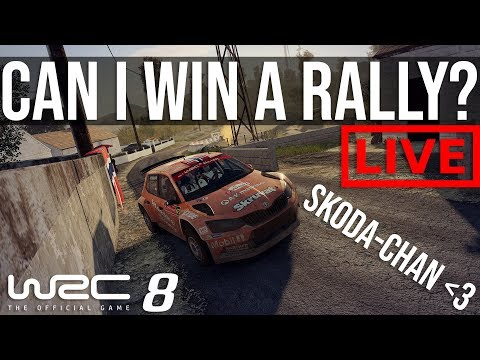 WRC 8 - Can We Win A Rally???