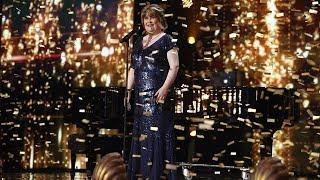 America's Got Talent The Champion Susan Boyle Golden Buzzer Week 1