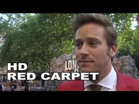 "The Lone Ranger: Armie Hammer ""John Reid / The Lone Ranger"" UK Premiere Interview"