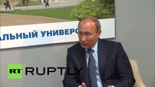 Russia: Putin meets with Chinese Vice Premier Yang at the Eastern Economic Forum