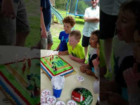 6th Birthday Party Candles