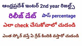 Ap inter second year results 2018 /intermediate results in Telugu /latest updates in Telugu