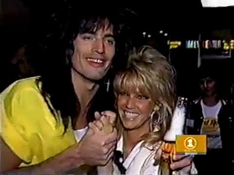 1986 Tommy Lee Heather Locklear Getting Married Clip Youtube