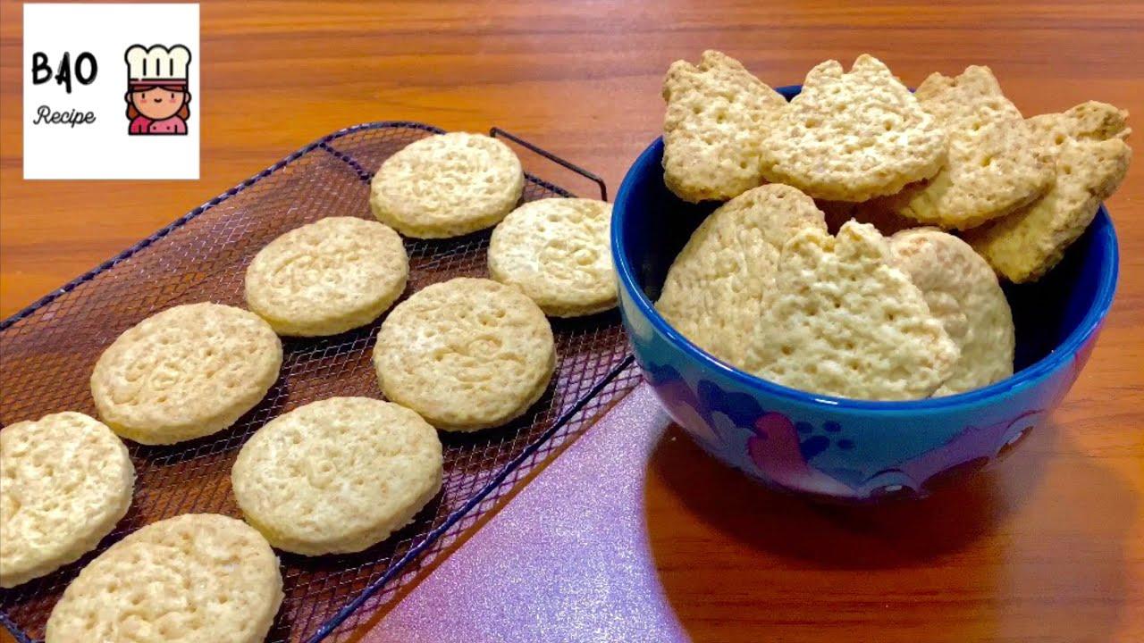 Sugar Biscuit Recipe by Bao Bao