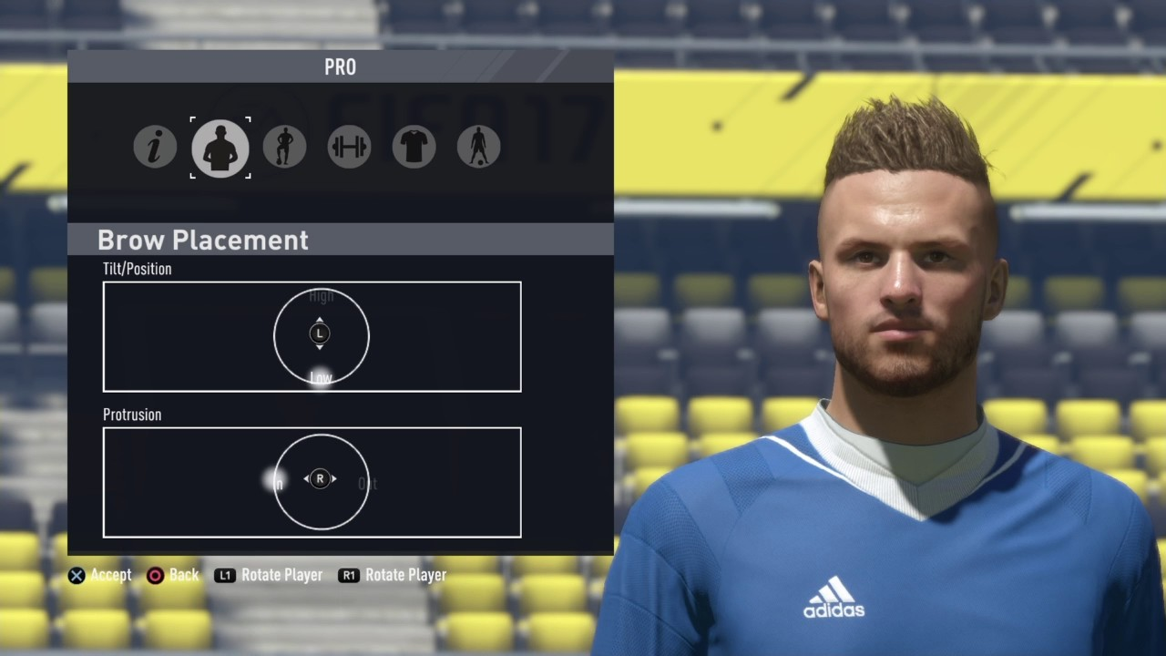 Andriy Yarmolenko FIFA 17 Look alike Virtual Pro