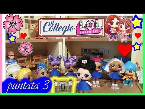 IL COLLEGIO..LOL puntata 3 IL FURTO DEL TELEFONO parodia  con le Lol SUrprise by Lara e Babou