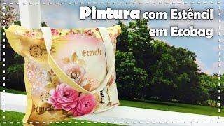 PINTURA EM ECOBAG com Rose Ferreira