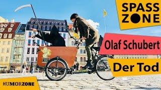 Der Tod und Olaf Schubert begucken Dresden mit dem Rad