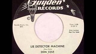 Don Cole - Snake Eyed Mama