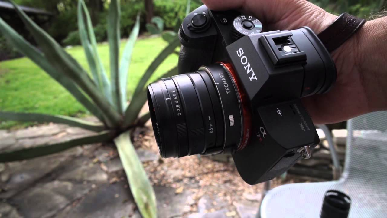 Phase Detect Autofocus with Carl Zeiss Contax G lenses on