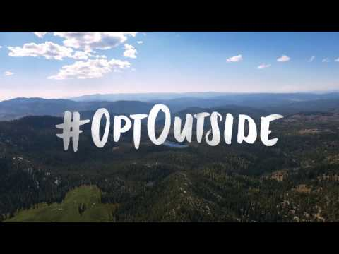 #OptOutside: Will You Go Out With Me?