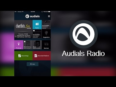 Audials Radio Mobile App – Over 80,000+ Radio Stations on your Mobile Device!