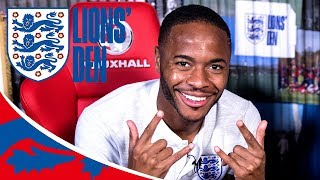 Sterling Catches Up with Childhood Football Coach! | Lions' Den Episode Twenty | World Cup 2018
