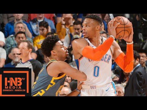 Golden State Warriors vs Oklahoma City Thunder Full Game Highlights | 11.21.2018, NBA Season