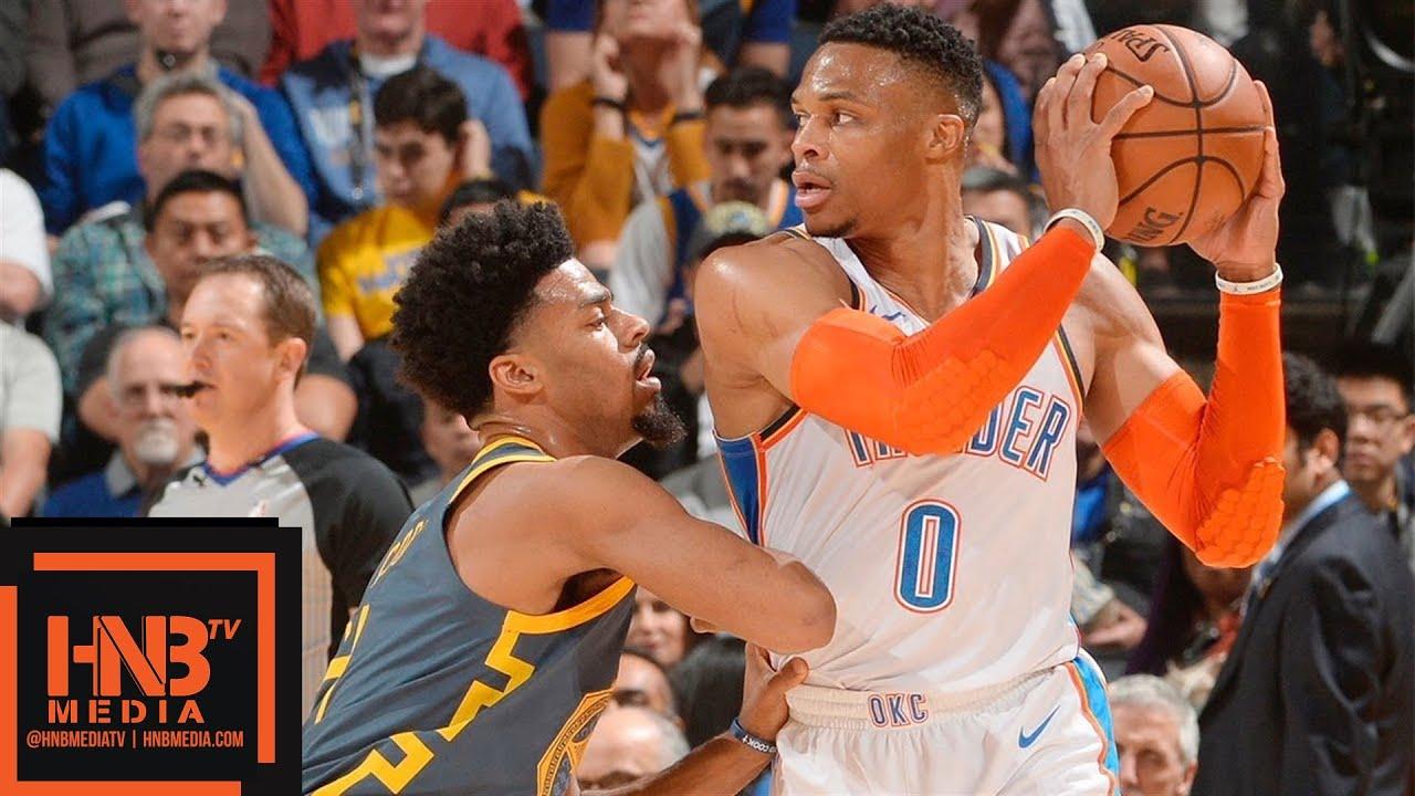 size 40 f58c8 490d4 Golden State Warriors vs Oklahoma City Thunder Full Game Highlights |  11.21.2018, NBA Season