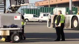 Transmark Logistics Charter Plane