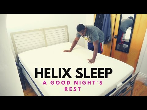 A Good Nightu0027s Rest: Helix Sleep Mattress!!!