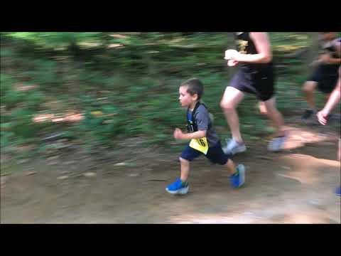 Kindergarten Cross Country Runner with GoPro