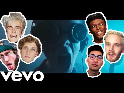 REACTING TO THE ULTIMATE YOUTUBER DISS TRACK (Ricegum, Pewdiepie, Jake Paul, Sidemen + MORE)