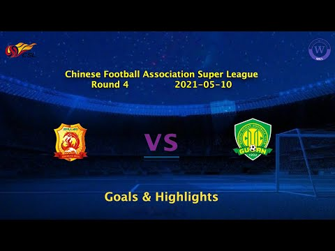 Wuhan Zall Beijing Guoan Goals And Highlights