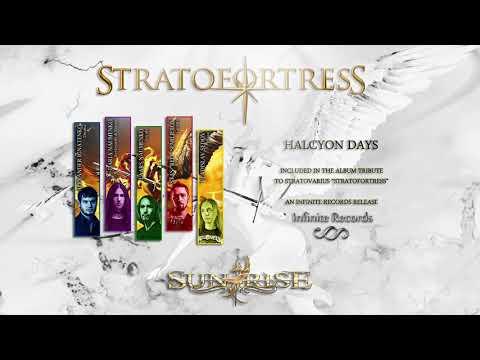 StratofortresS - Sunrise - Halcyon Days [Official Tribute album to StratovariuS] PROMO VIDEO