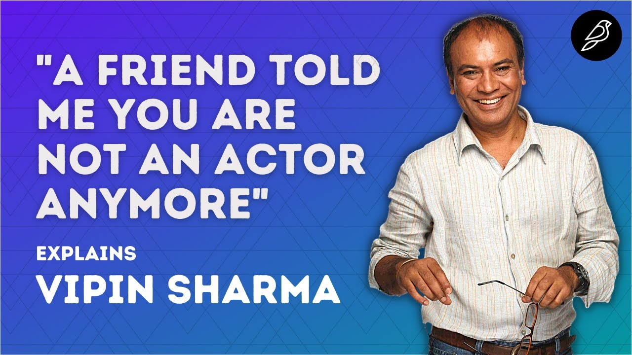 Life and Journey as an Actor - Vipin Sharma (Taare Zameen Par, Pataal Lok, The Family Man)