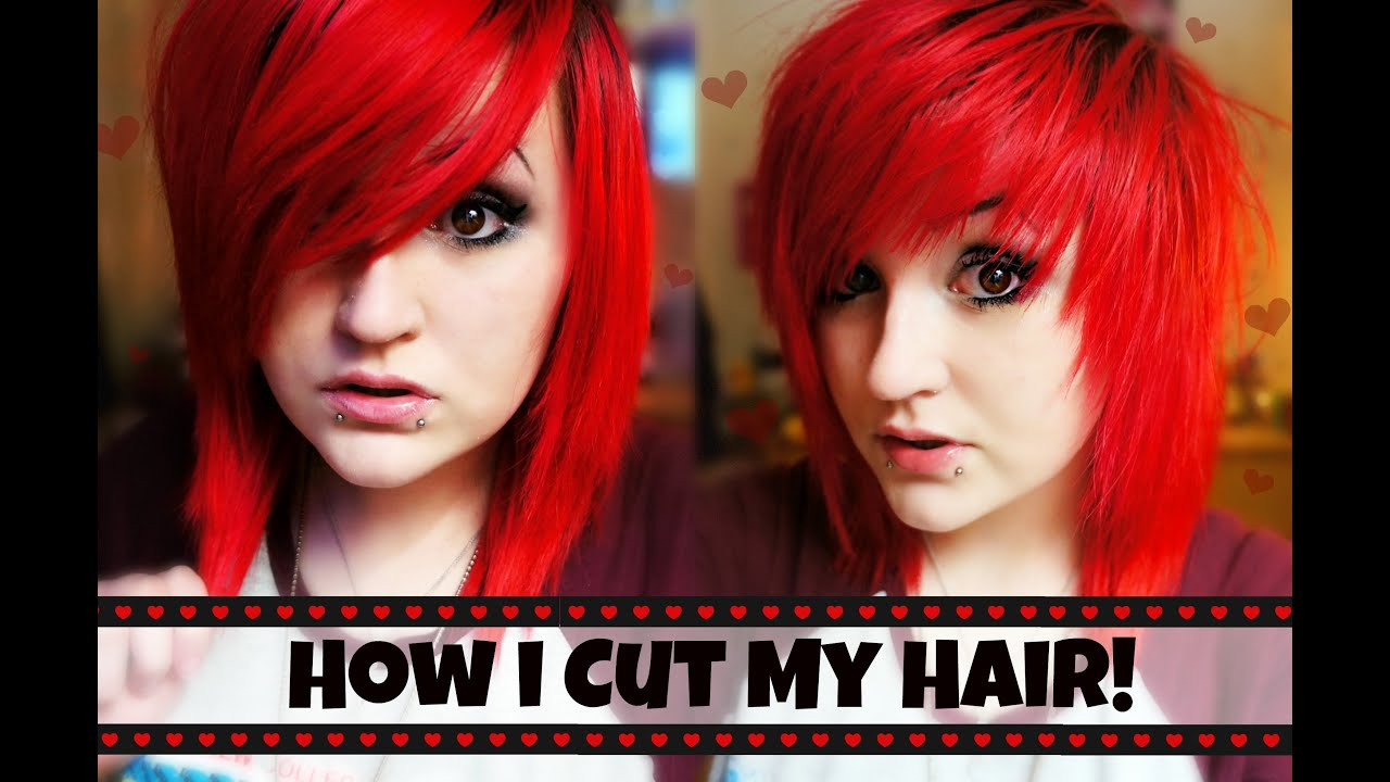 how i cut my hair choppy fringe layers youtube solutioingenieria Image collections