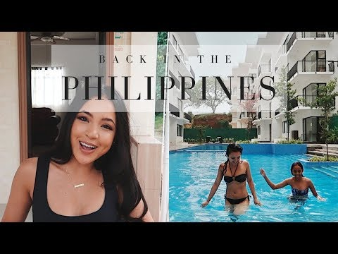 BACK IN THE PHILIPPINES!