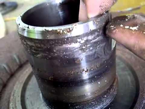 Torque converter removal on allison transmission