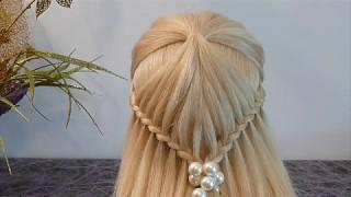 видео техника плетения косичек из волос