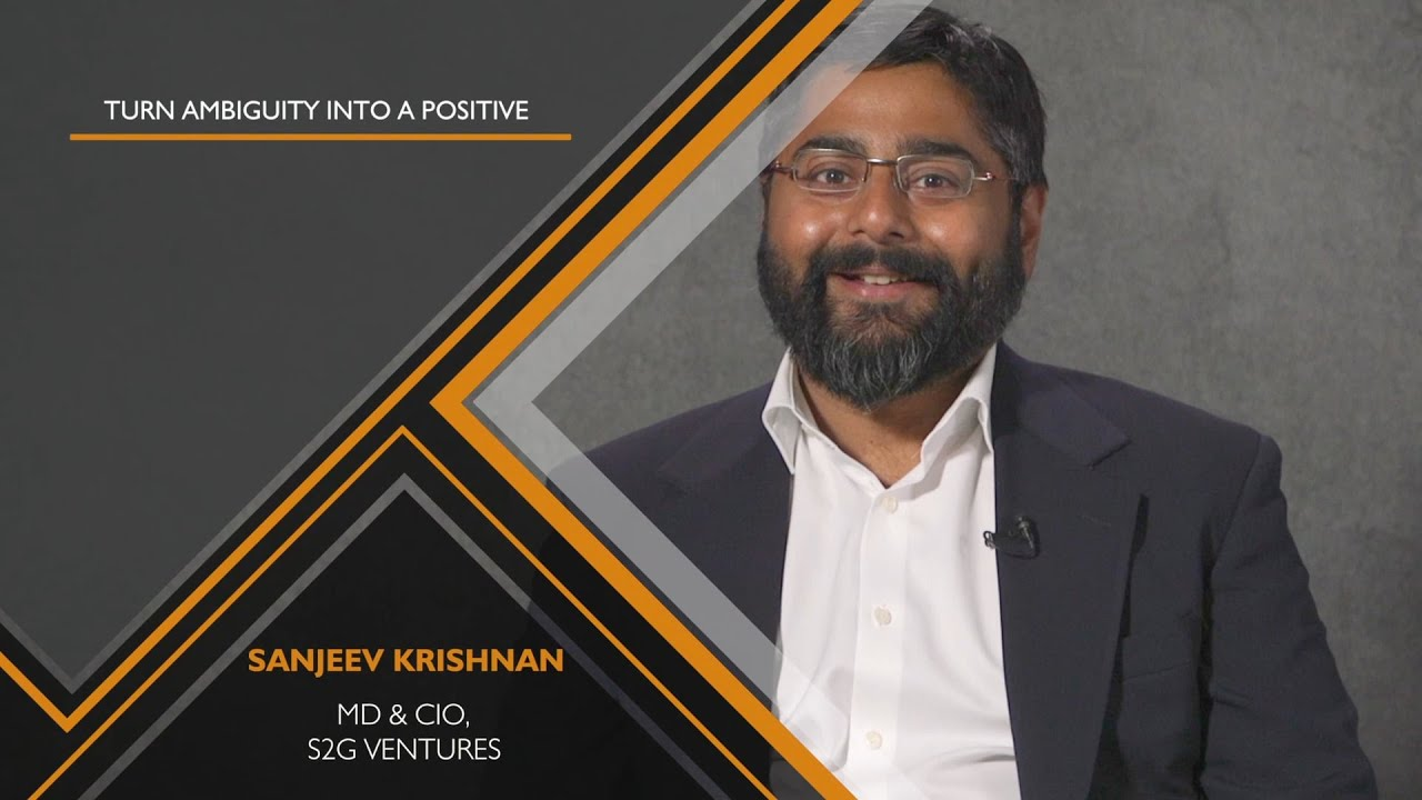 Sanjeev Krishnan - MD & CIO - S2G Ventures