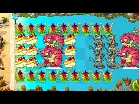 Plants vs Zombies 2 Gameplay Primal Witch Hazel Zombies vs Zombies Power Up PVZ 2 Plantas Contra