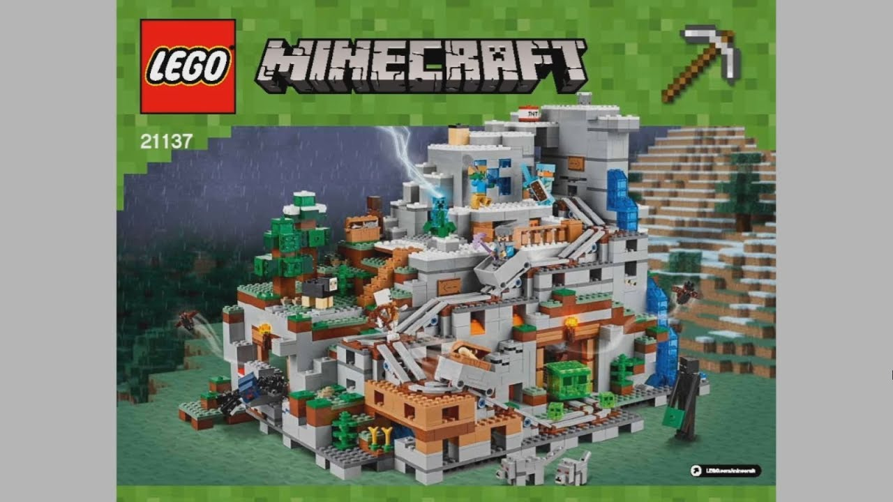 Lego Minecraft Jungle Treehouse Instructions Full Hd Pictures 4k