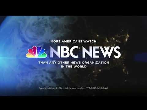NBC News Vanity Card