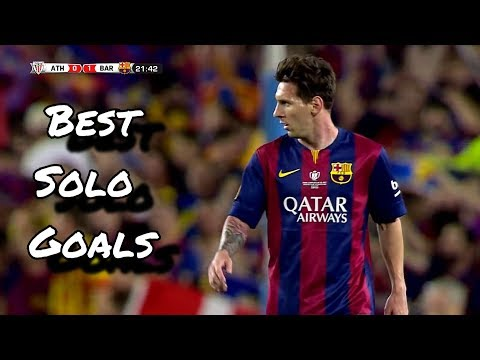 Lionel Messi  Best Solo Goals | HD