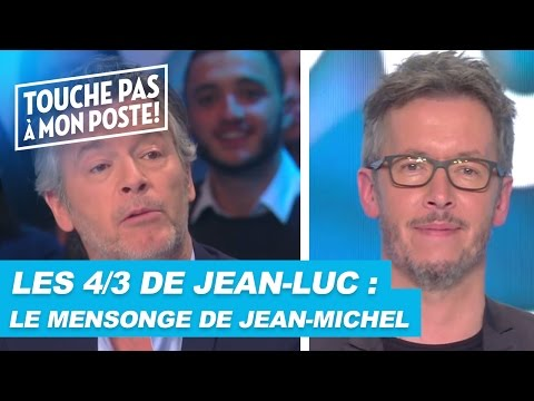 Les questions en 4/3 de Jean-Luc Lemoine : le mensonge de Jean-Michel Maire