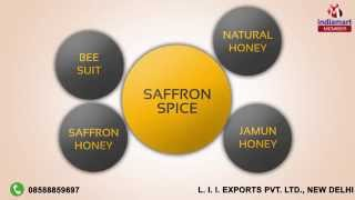 Saffron Honey & Basmati Rice by L. I. I. Exports Pvt. Ltd., New Delhi