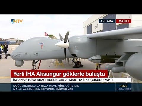 NTV HABER   TAI   ANKA AKSUNGUR İHA Haberi [16.04.2019]